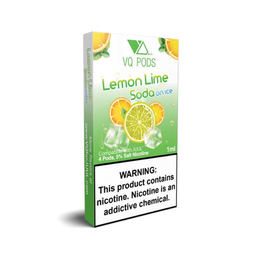 VQ Pods Lemon Lime Soda on Ice- VapeRanger Wholesale eLiquid/eJuice