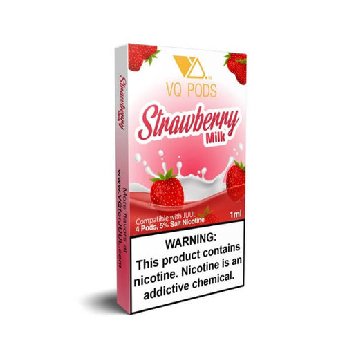 VQ Pods Strawberry Milk- VapeRanger Wholesale eLiquid/eJuice