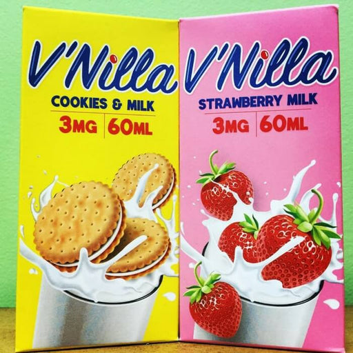 V'Nilla eJuice Sample Pack- VapeRanger Wholesale eLiquid/eJuice