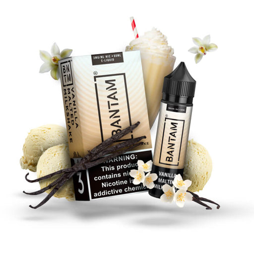 Vanilla Malted Milkshake by Bantam E-Liquid- VapeRanger Wholesale eLiquid/eJuice