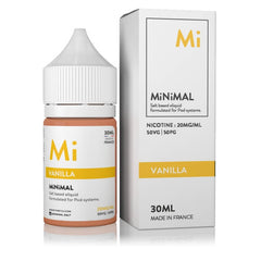 Vanilla by MiNiMAL Nicotine Salt E-Liquid Wholesale e Liquid | VapeRanger.com e Juice Wholesale