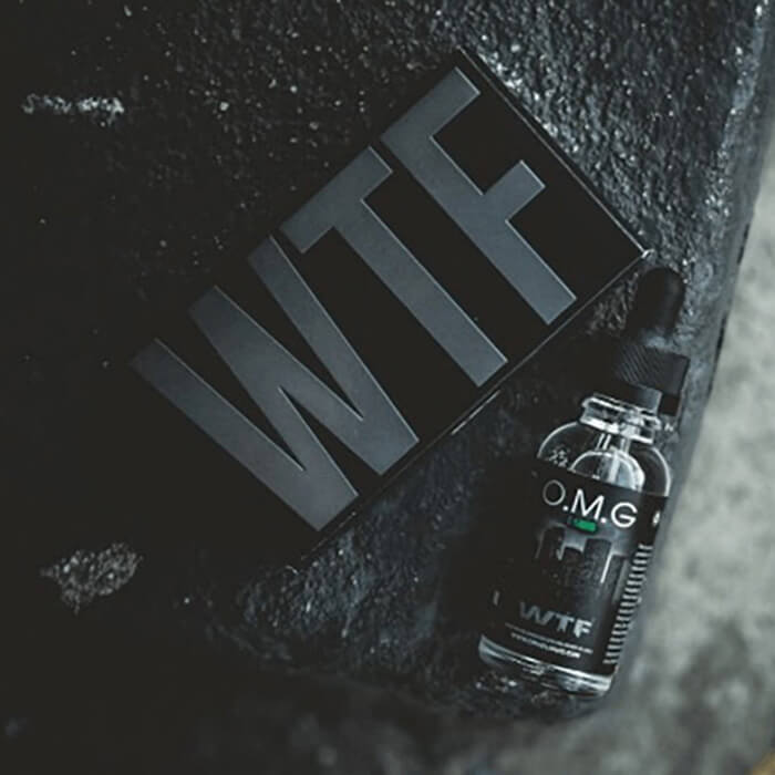 WTF by OMG E-Liquid eJuice