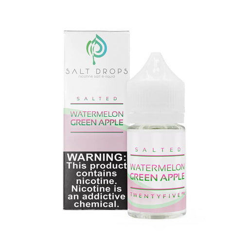 Salted Watermelon Green Apple by Salt Drops E-Liquid- VapeRanger Wholesale eLiquid/eJuice