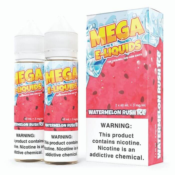 Watermelon Rush Ice by Mega E-Liquids