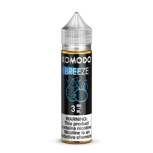 Breeze by Komodo eJuice- VapeRanger Wholesale eLiquid/eJuice