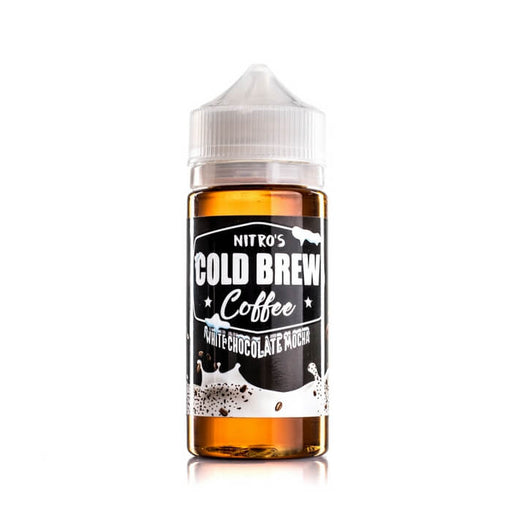 White Chocolate Mocha by Nitro's Cold Brew eJuice- VapeRanger Wholesale eLiquid/eJuice
