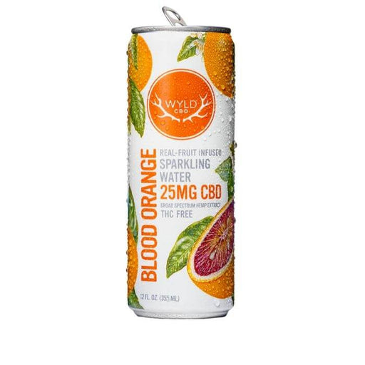 Wyld CBD Blood Orange Sparkling Water- VapeRanger Wholesale eLiquid/eJuice