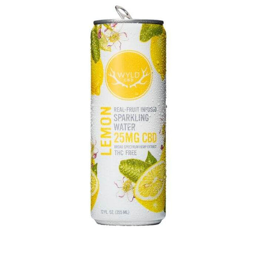 Wyld CBD Lemon Sparkling Water- VapeRanger Wholesale eLiquid/eJuice