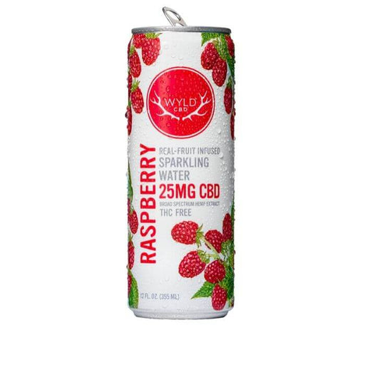 Wyld CBD Raspberry Sparkling Water- VapeRanger Wholesale eLiquid/eJuice