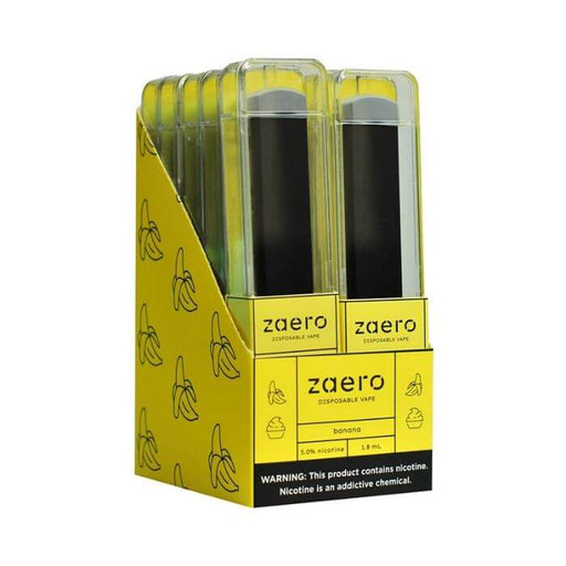 Zaero Banana Disposable Device- VapeRanger Wholesale eLiquid/eJuice