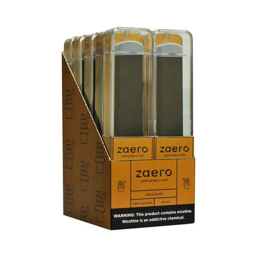 Zaero Chocolate Disposable Device- VapeRanger Wholesale eLiquid/eJuice