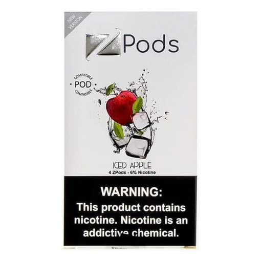 Ziip Pods Iced Apple- VapeRanger Wholesale eLiquid/eJuice