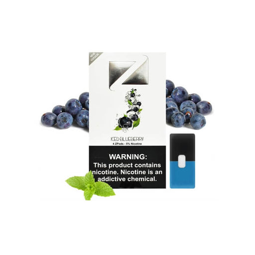 Ziip Pods Iced Blueberry- VapeRanger Wholesale eLiquid/eJuice