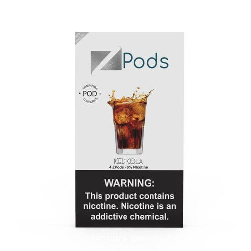 Ziip Pods Iced Cola- VapeRanger Wholesale eLiquid/eJuice