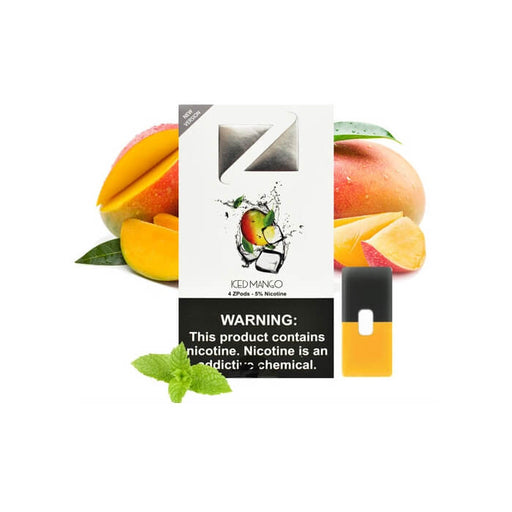 Ziip Pods Iced Mango- VapeRanger Wholesale eLiquid/eJuice