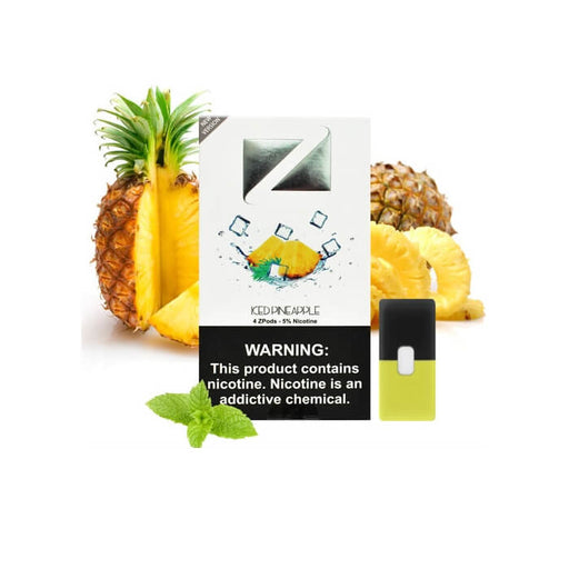 Ziip Pods Iced Pineapple- VapeRanger Wholesale eLiquid/eJuice
