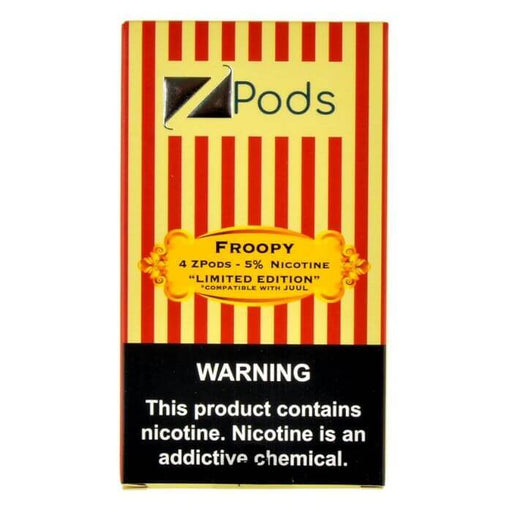 Ziip Pods Limited Edition Froopy- VapeRanger Wholesale eLiquid/eJuice