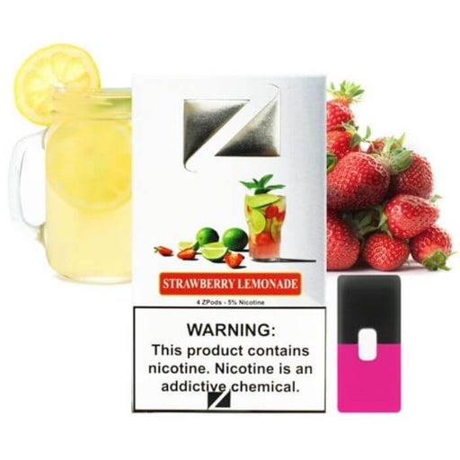 Ziip Pods Strawberry Lemonade- VapeRanger Wholesale eLiquid/eJuice