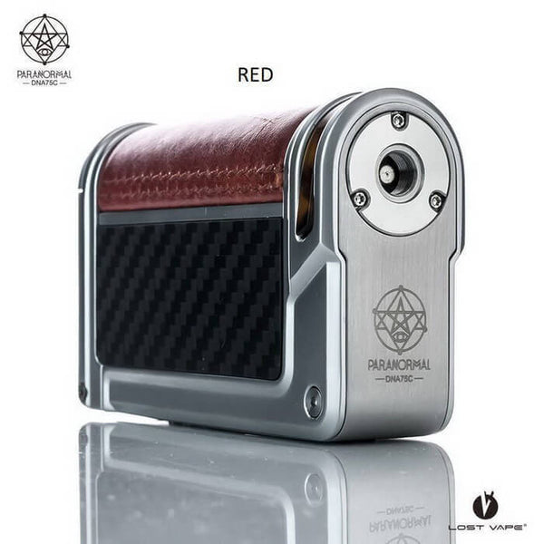 Lost Vape Paranormal DNA75C TC Box Mod (Silver Frame)