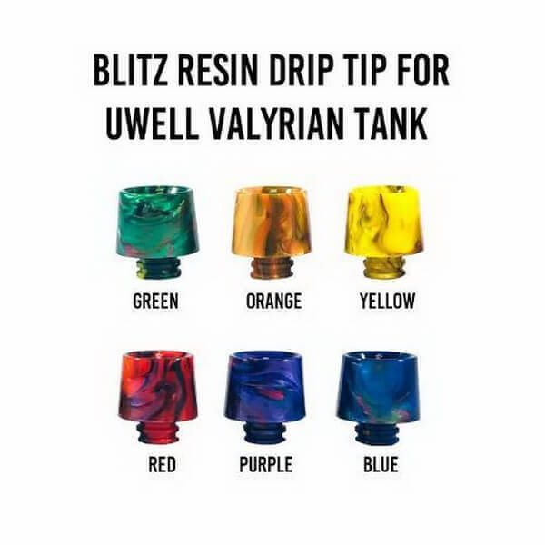 Blitz Resin Drip Tip for Valyrian Wholesale eLiquid | eJuice Wholesale VapeRanger