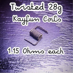 Tradition Vapes Twisted Kayfun Coils (5-Pack) eLiquid by Tradition Vapes - eJuice Wholesale on VapeRanger.com