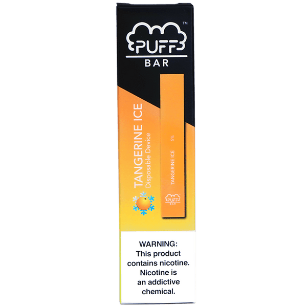 Puff Bar Tangerine Ice Disposable Pod