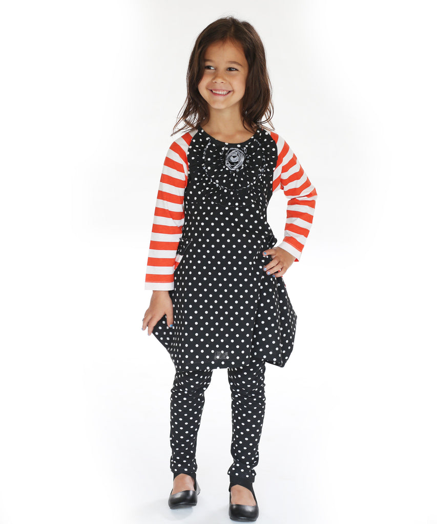 Jelly The Pug Halloween Boo -Tiful Marie Dress With Leggings 2016 - 18M 10Y