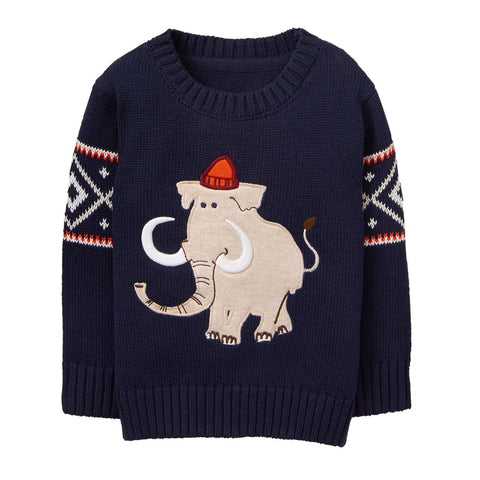 Gymboree Alpine Sweater Mammoth Navy Sweater Boy 2T