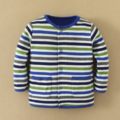 MOM and BAB Baby Boy Two Sides Jacket 24M Height:31-33