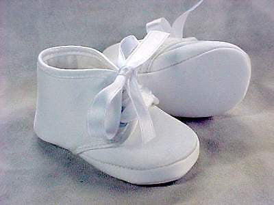 ABA Infant Baby Girl Boy Christening Shoes 8-11 Months MSRP:$78 Made in Italy - LinaAndMickey