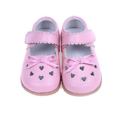 Baby Girl Mary Jane Natural Leather Size:7 Insole Length 13.5cm - LinaAndMickey