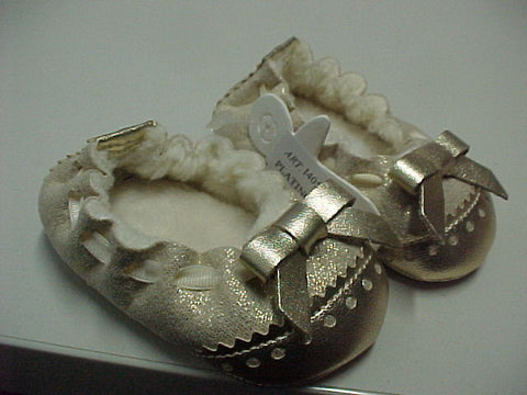 ABA Infant Baby Girls Fall/Winter Warm Flats Shoes 9-12M Made in Italy MSRP:$75 - LinaAndMickey