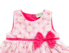 Sophie Catalou Infant Baby Girl Floral Bow Bodysuit Dress 18-24M MSRP:$68