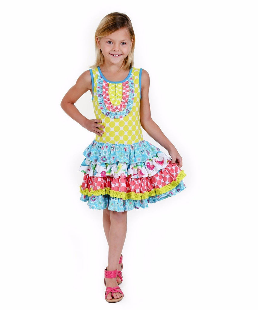 Jelly The Pug 2016 Birds Of A Feather Chloe Knit Dress Toddler Girls 2T: $69