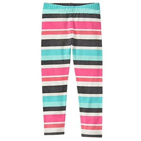 Gymboree Pink Multi Stripe Legging _ Girls`Size:M (7-8) - 7,8,9 Years
