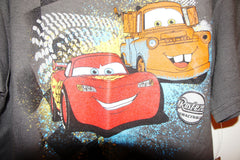 Disney Store Cars: Mater & Lightning McQueen Tee- Boys SIze:L10/12 Age:8-10Years