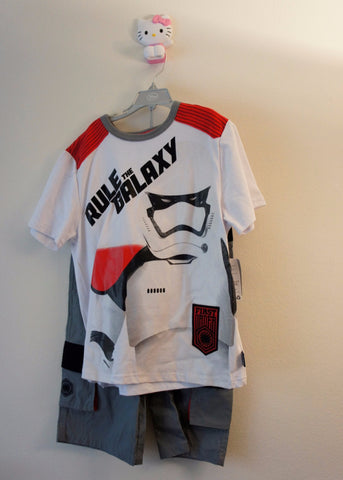 Disney Store Star Wars Rule The Galaxy Short Set - Boys Size:11/12