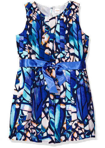 Gymboree Little Girls' Butterfly Abstract Print Dress Multi Size:5