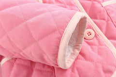 MOM and BAB Infant Baby Girl Jacket Size:12M (Fitting for 9-12 or 6-9M)