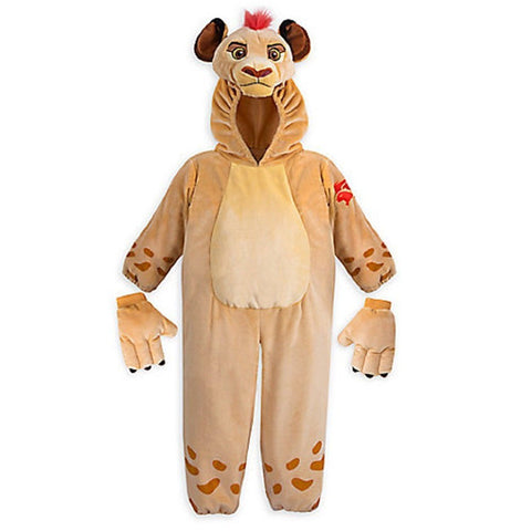Original Disney Store Lion King Kion Guard Plush Costume -  Boys/Girls Size: 7/8