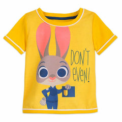 Authentic Disney Store Judy Hopps PJ Set for Girls - Zootopia Size:4