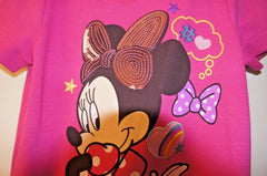 Disney Store Minnie Mouse Color Block - Girls 9/10 Spring, Fall, WInter