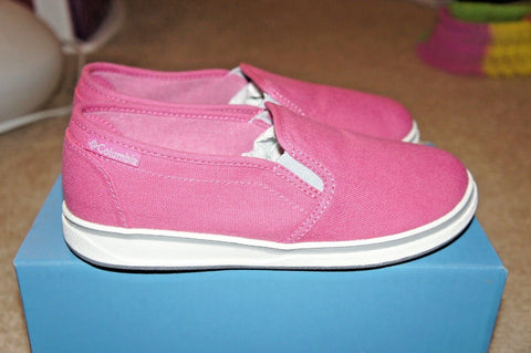 Columbia Hot Pink Crankbait Youth Canvas Girls Shoes Size:US 3, UK 2, EUR 34, 21