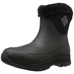 Muck Boot Women's Arctic Apres Slip-On Snow Black/Charcoal US:9, UK :7, EU:41