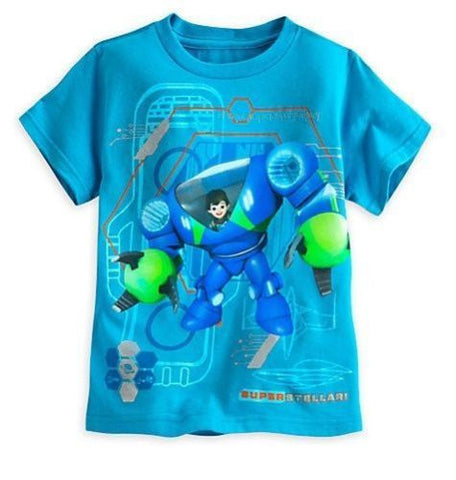 Disney Store Little Boys Miles from Tomorrowland T-Shirt - Boys Size: 5/6 & 7/8