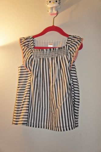 Gymboree Striped Top Girl Size:7 (6-7 Years Old) Up to 62lb/28kg Weight Slim