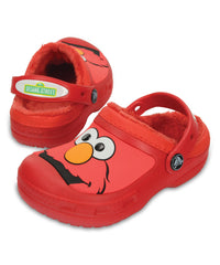 Crocs Elmo Flame Lined Clog - Unisex (Girls & Boys) Size:J3