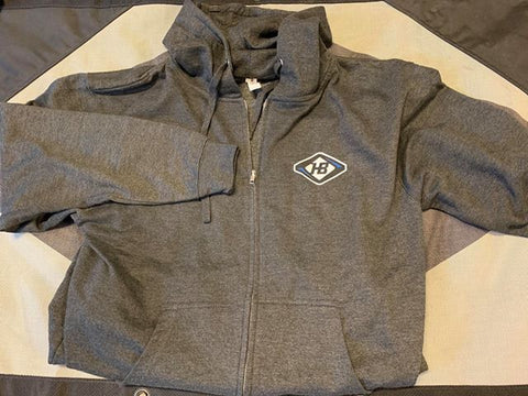 High Beam Logo Full-zip Hoodie