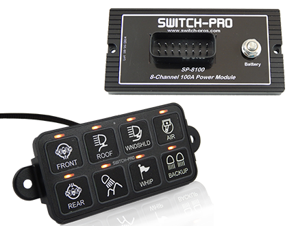 Switch Pros SP8100 8-Switch Panel Power System
