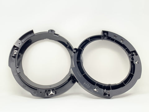 JK Mopar LED Headlight to High Beam Mounting Ring